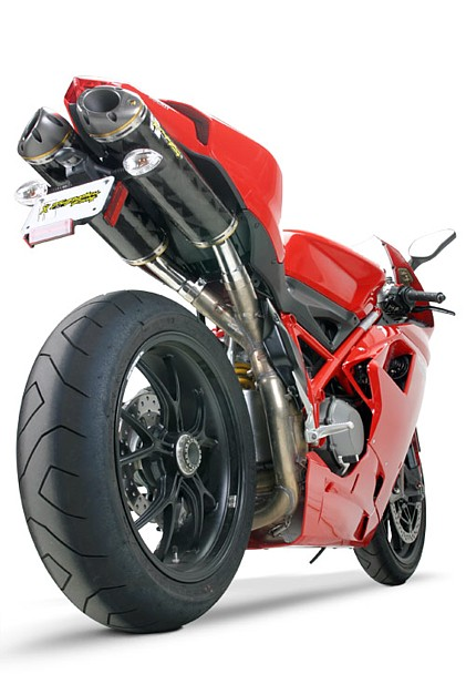 Two Brothers Slip On Exhaust Systems For The Ducati 1098