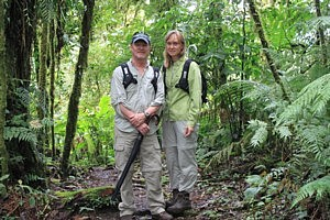 Jerry & Amber in Santa Elena Cloud Forest