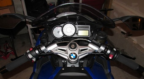 TS05027 HeliBars TracStar handlebar risers for BMW K1200S