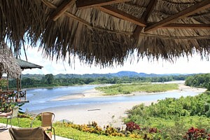 Casa del Suizo View of Napo River