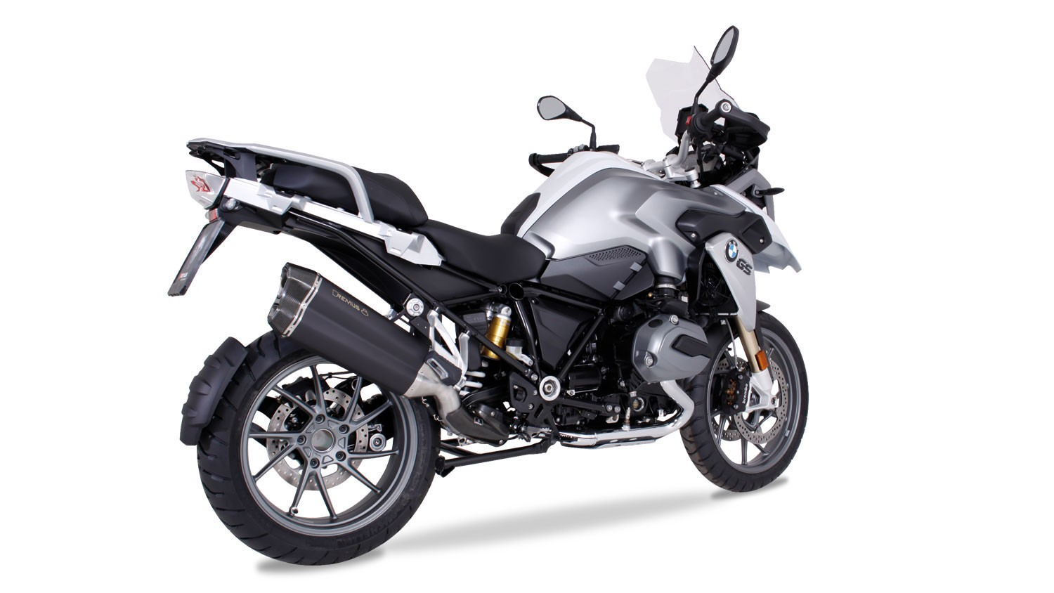 remus 8 slip on exhaust systems for the 2013 bmw r1200gs. Black Bedroom Furniture Sets. Home Design Ideas