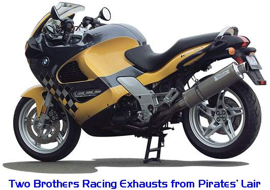 Two Brothers Performance Exhaust Systems for the BMW K1200RS and K1200GT