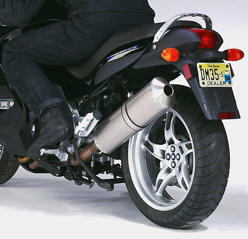Ztechnik Exhaust Systems For The Bmw K1200rs And K1200gt