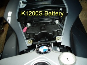 K1200s Accessory Outlet Modification