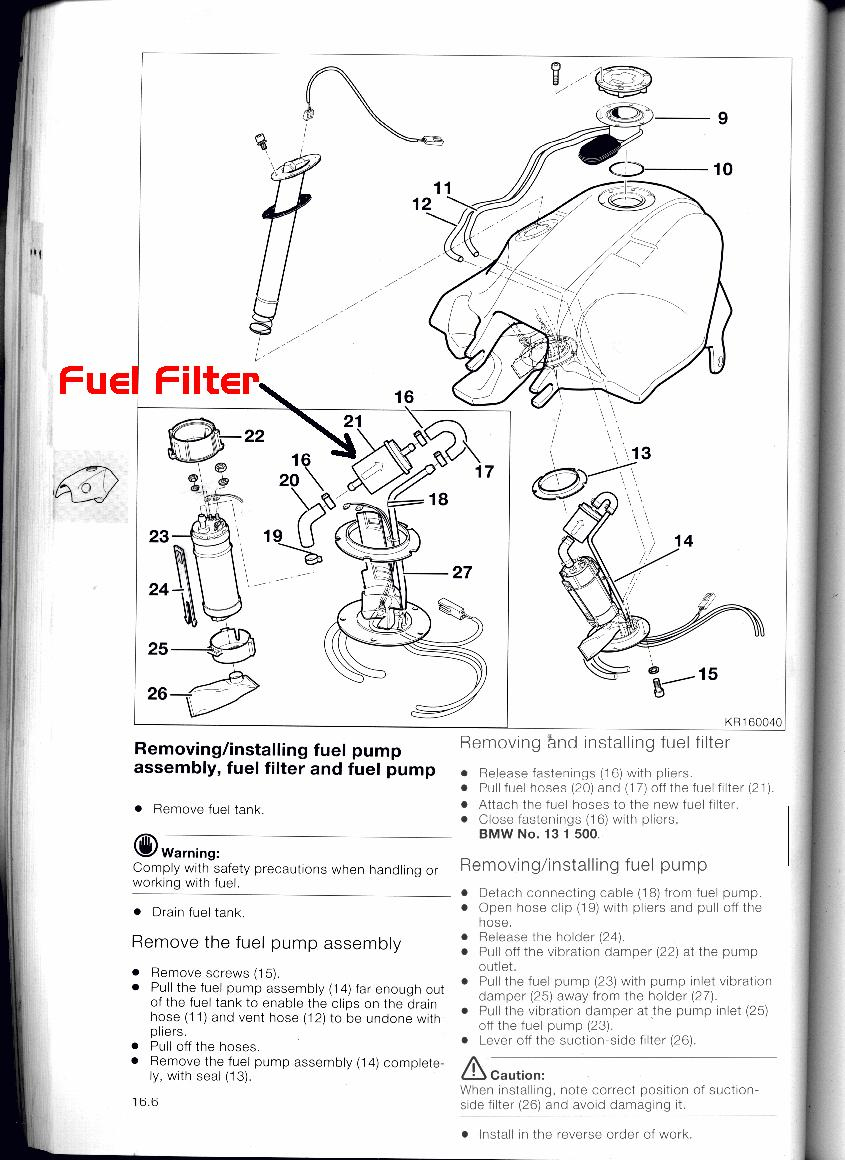 How To Remove/Install K1200RS Fuel Pump/Filter