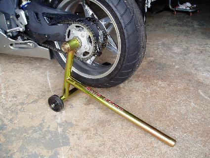 pit bull wheel stands for the mv agusta f4 / butale