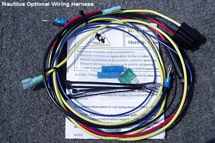 universal plug n play wiring harness for motorcycle air horns wiring diagram motorcycle horn