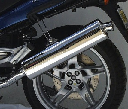 Staintune Exhausts for the BMW K1200RS/GT from Pirates' Lair